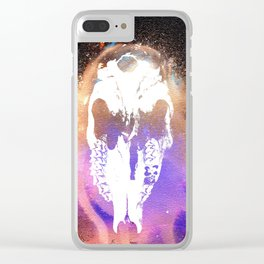 Cthulu's Skull Clear iPhone Case