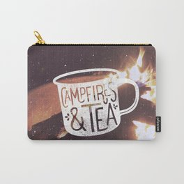 Campfires & Tea Carry-All Pouch