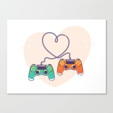 Play Love Canvas Print