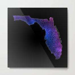 Florida StarStuff Metal Print