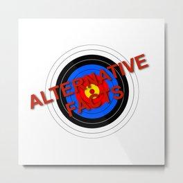 Target Alternative Facts Metal Print