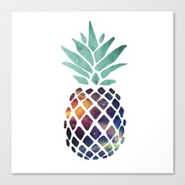 Space Pineapple Canvas Print