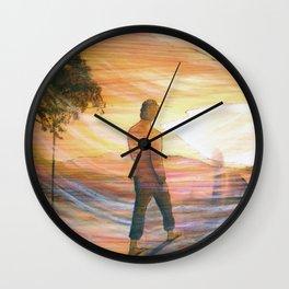 Donovan 1 Wall Clock