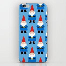 Gnome Repeat in Blue iPhone Skin