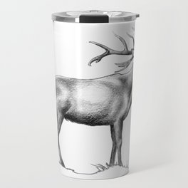 Red Stag Roaring 2 Travel Mug