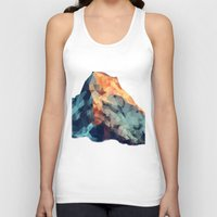 low poly Tank Tops featuring Mountain low poly by Li9z
