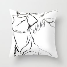 Winged Victory 1 Throw Pillow