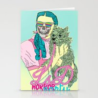 horror Stationery Cards featuring Lsd  horror party by DIVIDUS
