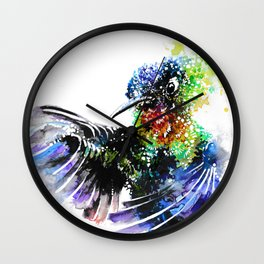 Hummingbird 4 Wall Clock