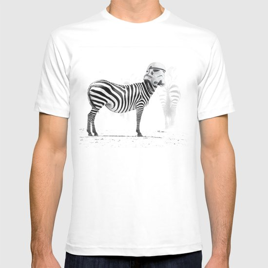 Trooper Stripes  _ Star Wars _ Zebra T-shirt