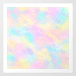 Candyfloss Dream Art Print