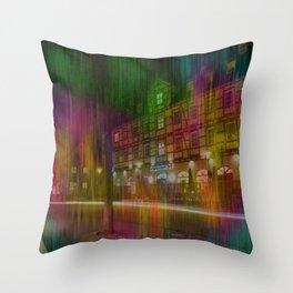 Hotel in Laupheim Throw Pillow