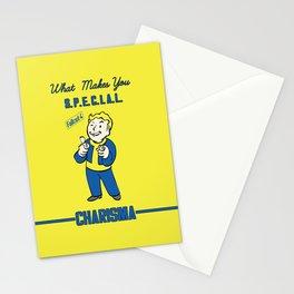 Charisma S.P.E.C.I.A.L. Fallout 4 Stationery Cards