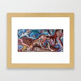 Medusa Exposed Framed Art Print