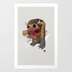 Wild 1 two Art Print