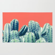 Cactus on Coral #society6 #decor #buyart Rug