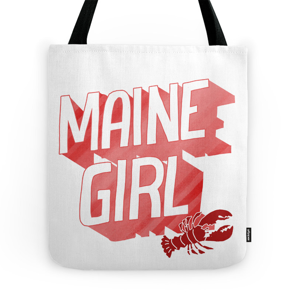Maine Girl Tote Purse by maggieedkins (TBG7282010) photo