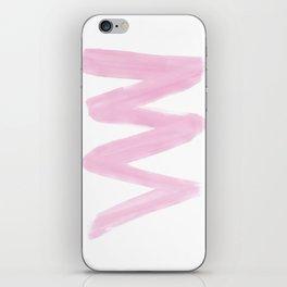 Pastel Pink Blizzard iPhone Skin