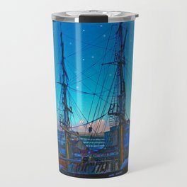 The Liffey,Dublin, Ireland. Travel Mug