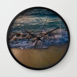 wave break Wall Clock