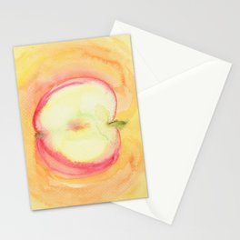 Delicious Apple Stationery Cards