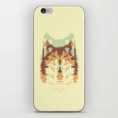 WOLF A. iPhone Skin