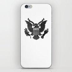 E PLURIBUS UNUM B/W iPhone & iPod Skin