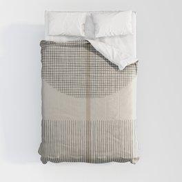 Geometric Composition III Comforters