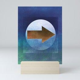 Arrow Composition V Mini Art Print