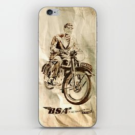 BSA - Vintage Poster iPhone Skin