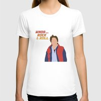 mcfly T-shirts featuring Marty McFly by Christina