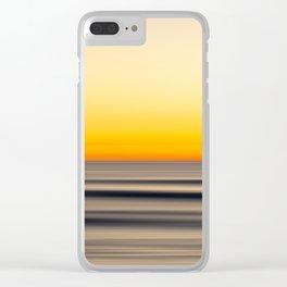 Tangerine Sky Clear iPhone Case