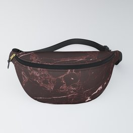 Masala Red Marble Fanny Pack