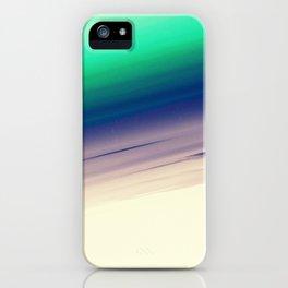 Mint Blue Lavender Ombre iPhone Case