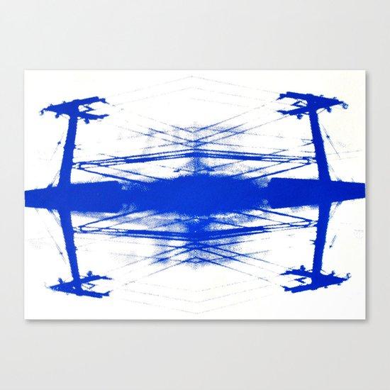Powerline Study #3 Canvas Print