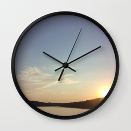 Sunny Paradise Wall Clock
