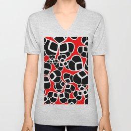 "Koloman (Kolo) Moser ""Textile pattern (Cloverleaf / Shamrock)"" (1) Unisex V-Neck"