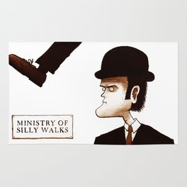The Ministry of Silly Walks Rug