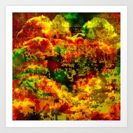 C13D Distressed Art Print
