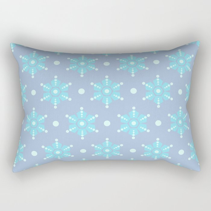 The retro snowflake II Rectangular Pillow