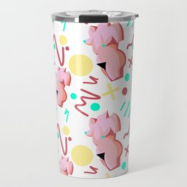 Pink Lady from the 80s Travel Mug
