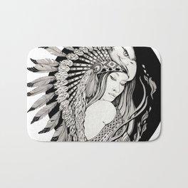 A dream of feathers Bath Mat