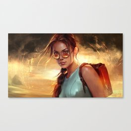 Lara Croft: Tomb Raider Canvas Print
