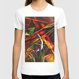 Black Forest Scene, Germany by Franz Marc T-shirt