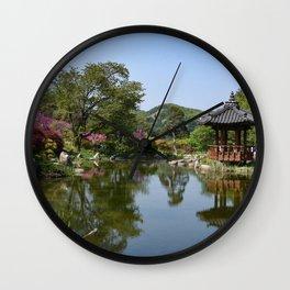The Garden of the Morning Calm, Korea Wall Clock