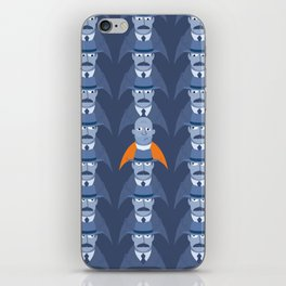 Watching the Detectives. iPhone Skin