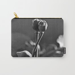 Floral Embrace - Poppy Carry-All Pouch