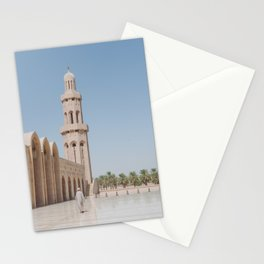 Grand Mosque in Muscat, Oman Stationery Cards