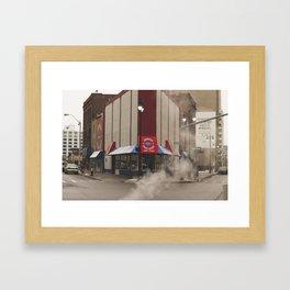 The Coney Framed Art Print