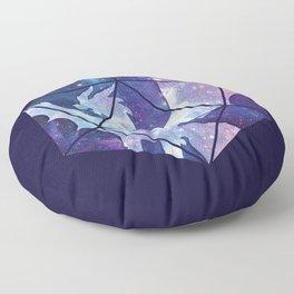 D20 Dragon Bright Soul Floor Pillow